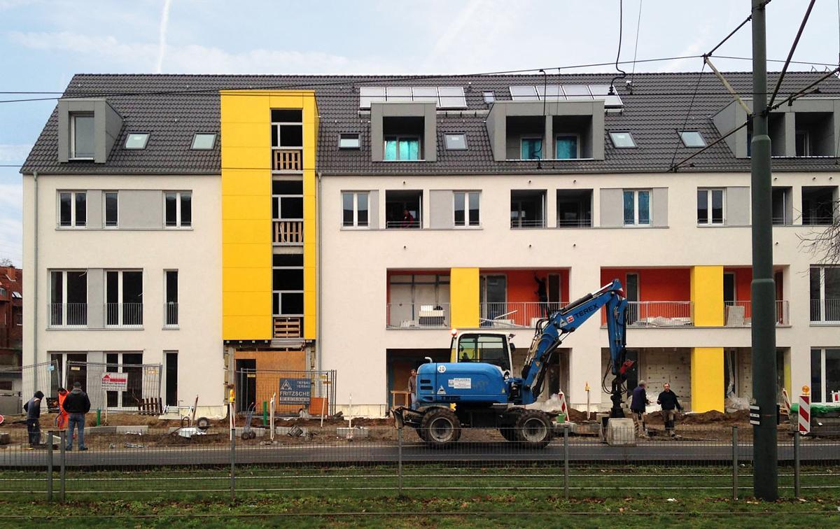 baustellen news aus d sseldorf lierenfeld kuthsweg rheinwohnungsbau. Black Bedroom Furniture Sets. Home Design Ideas