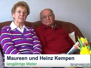 Ein Staddteil verändert sich - Eheleute Kempen
