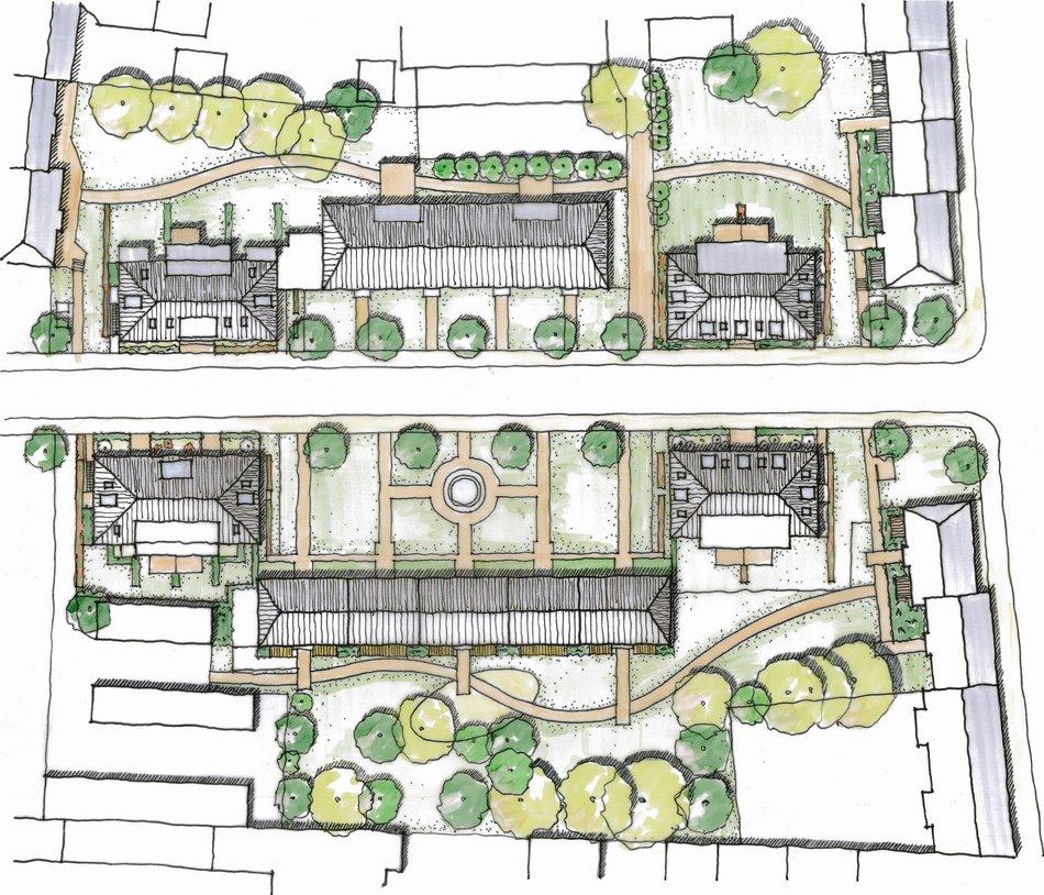 Architektur rheinwohnungsbau - Architektur zeichnen ...